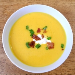 pumpkin coconut and shrimp chowder roasted red kuri pumpkin coconut 25 ...