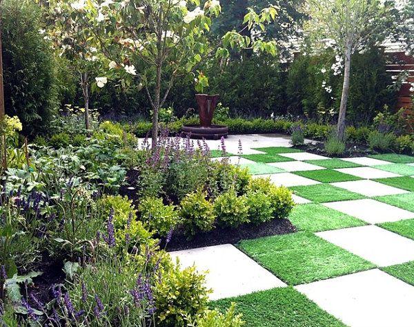 Small Courtyard Contemporary Gardens Pinterest