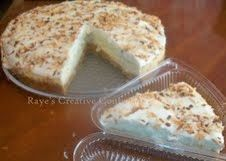 ... Coconut Lime Cheesecake Slice w/ Coconut Whipped Cream & Toasted