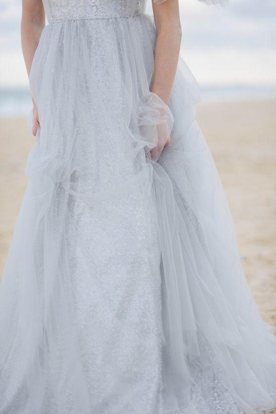 Soft blue wedding dress the babushka ballerina for Blue beach wedding dresses