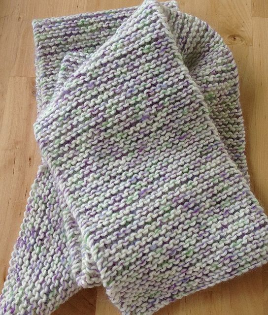 Knitting A Scarf Garter Stitch : Pinterest: Discover and save creative ideas