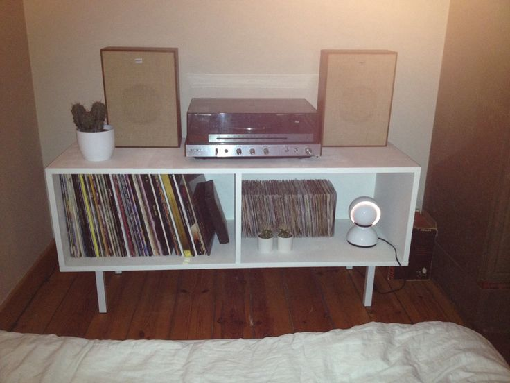 diy vinyl record storage cupboard for the home pinterest
