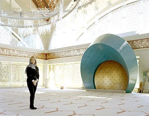Kiến trúc sư Zeynep Fadillioglu, nhà thiết kế thánh đường Sakirin