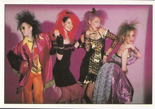 80's fashion punk rock style | 80s fashion | Pinterest