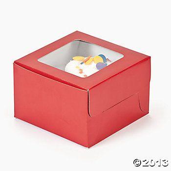 valentine cupcakes boxes