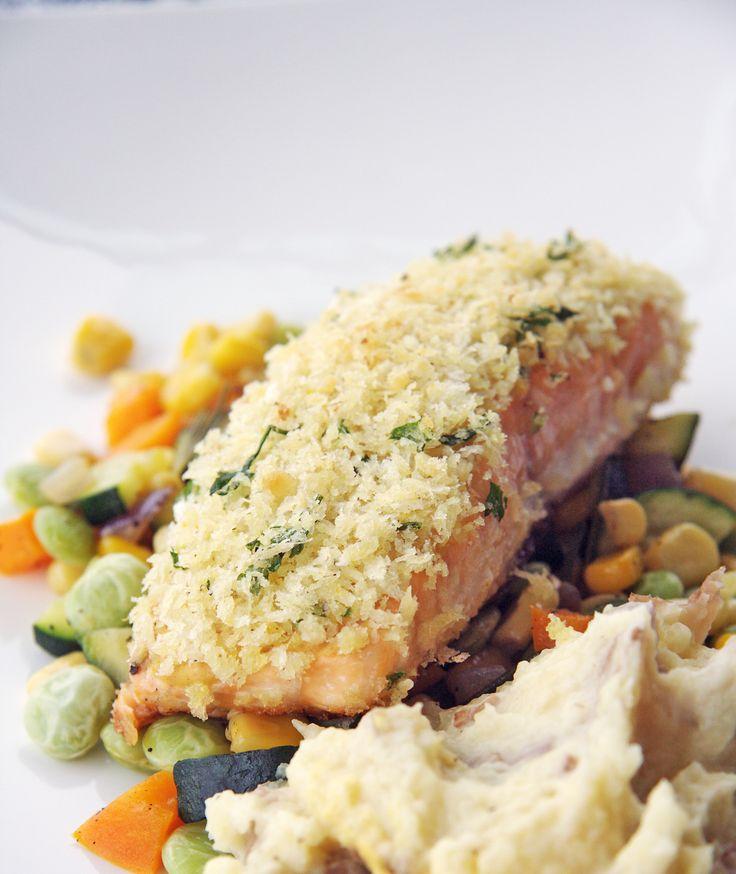 Panko-Crusted Salmon from Ina Garten