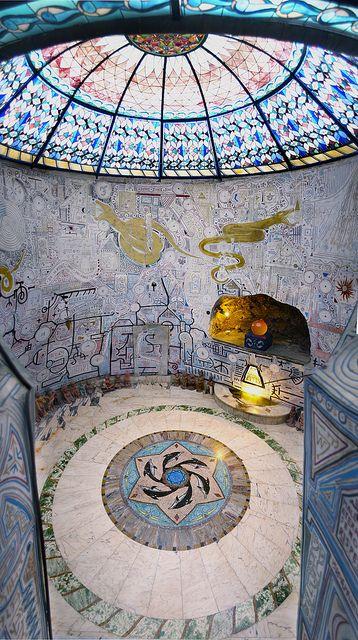 Hall of Water by Damanhur, Baldissero Canavese, Piemonte