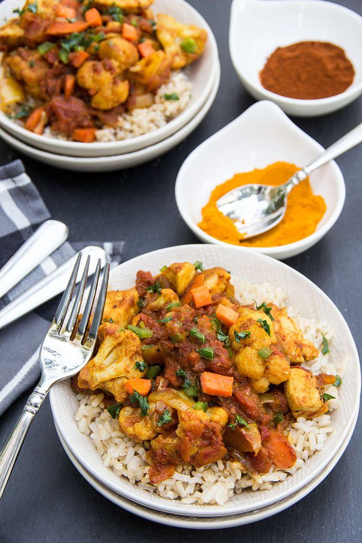 Easy Indian: Skinny Chicken Tikka Masala | Recipe
