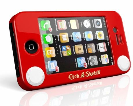 HeadCase Etch A Sketch iPhone 4 Case, for when i get an iphone