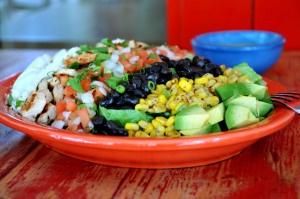 Mexican Shrimp Cobb Salad | Health, Life, + Loss | Pinterest