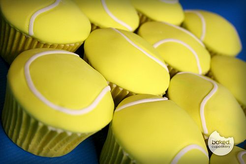 Serve this! Tennis ball cupcakes for any special occasion