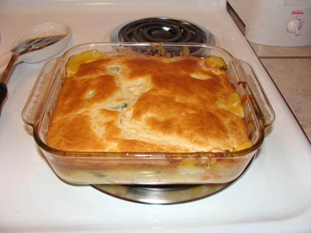 Easy Bisquick Chicken Pot Pie Recipe - 3/13/13 Everyone liked except ...