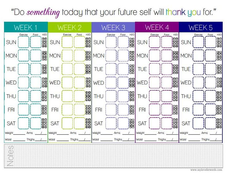 Printable+Dumbbell+Workout+Chart Free Printable Dumbbell Workout Chart
