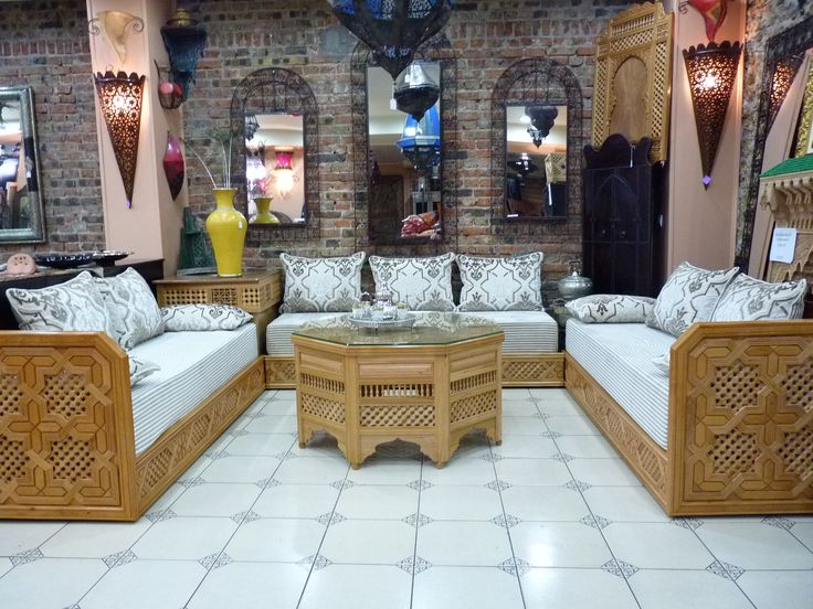 salon marocain hannach salon yasmine design interne
