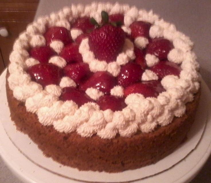 Strawberry Swirl Cheesecake... | Sweet Treats | Pinterest