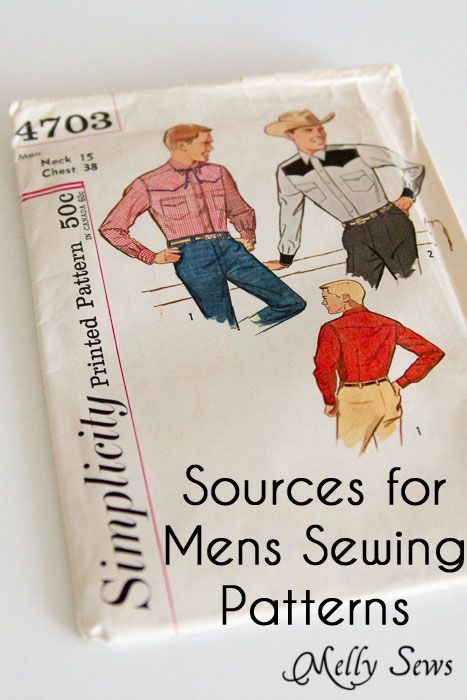 Sewing Patterns For Men 38