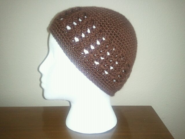 Another Kufi Hat Pattern Knit / Crochet Pinterest