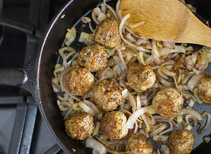 Lamb Souvlaki Meatballs | Edible Heaven | Pinterest