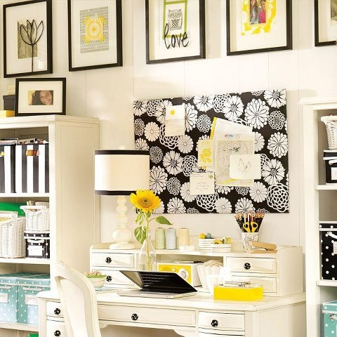 BHG-Black and Yellow!  I also like gray and yellow