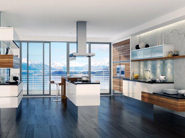 Beach house modern luxury kitchen design house stuff pinterest - Beach house kitchen design ...