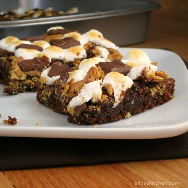 mores Brownies | Recipe