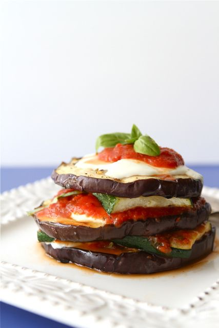 grilled zucchini amp eggplant parmesan recipe vegetarian by ...