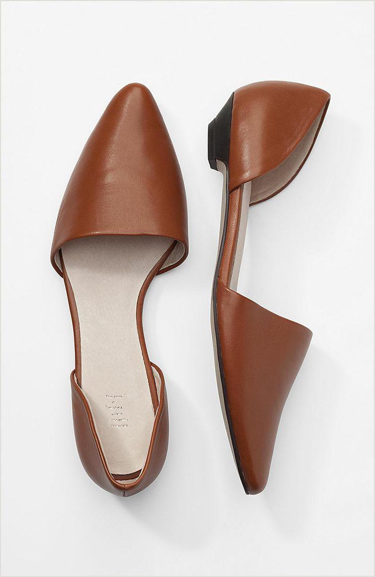 Lovely d Orsay leather skimmers at J.Jill - I want these in multiple