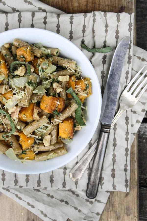 Butternut Squash and Sage Pesto Pasta | Recipe