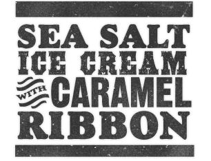 ... Sea Salt Ice Cream with Caramel Ribbons, #2 on my list after Pear