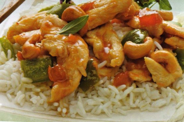 Attempted to make a low-sodium, low-fat Asian Apricot Chicken for the ...