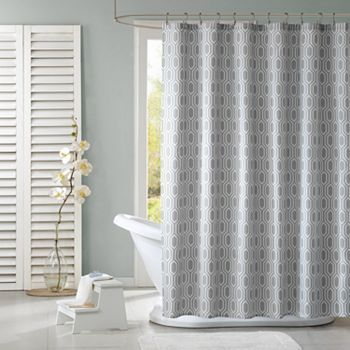 Lexie Fabric Shower Curtain