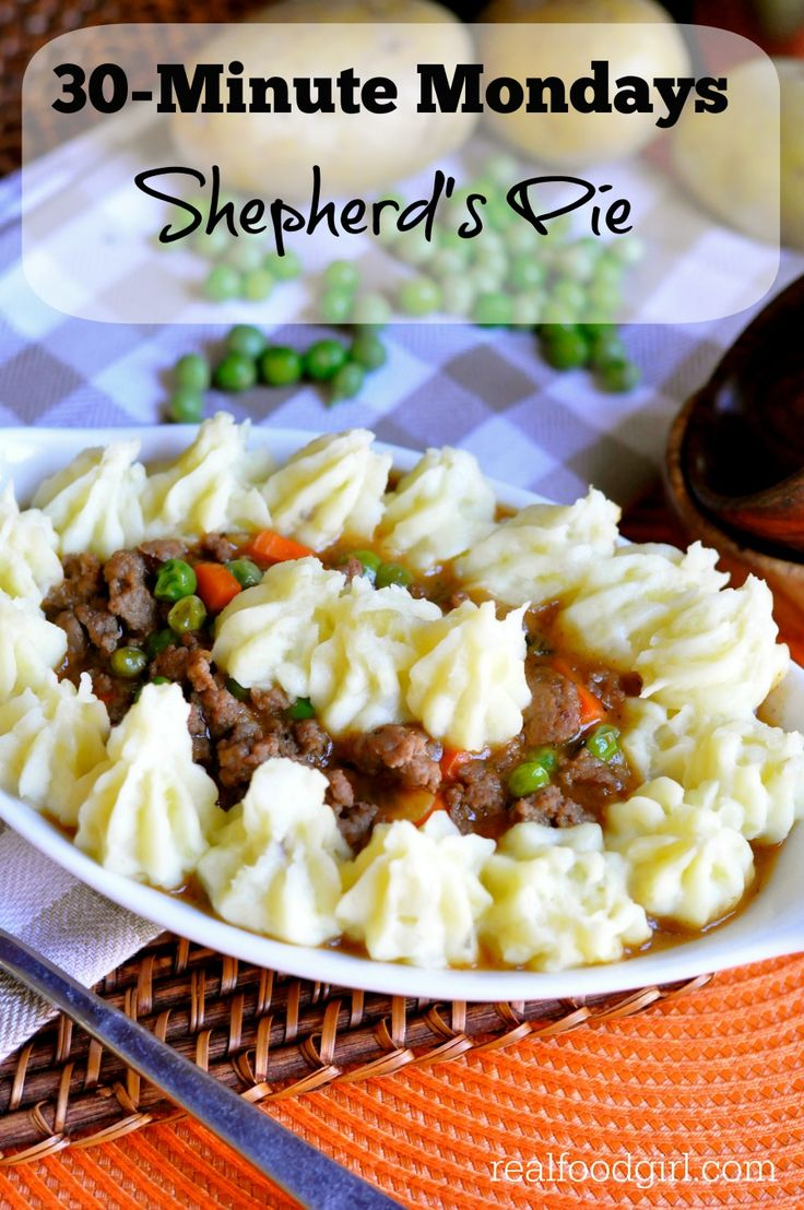 Skillet Shepherd's Pie by Real Food Girl: Unmodified. Made with savory ...