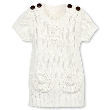 Arizona sweater dress girls newborn 24m jcpenney for hosanna