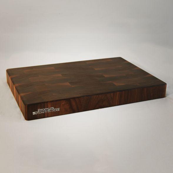 12x18x2 end grain butcher block cutting board