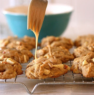 ... -food recipes and really good desserts » Maple-Glazed Apple Cookies