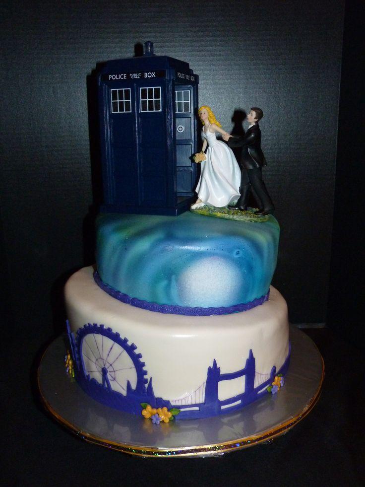 doctor who wedding cake   Vow renewal ideas   Pinterest