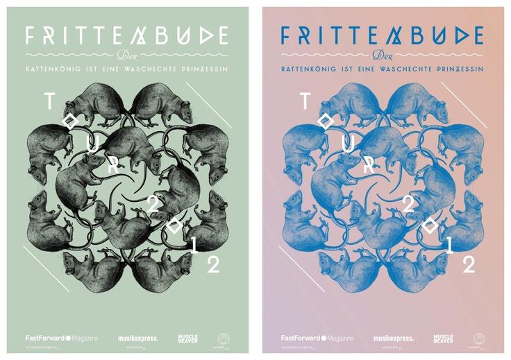 Frittenbude Tour Poster 2012
