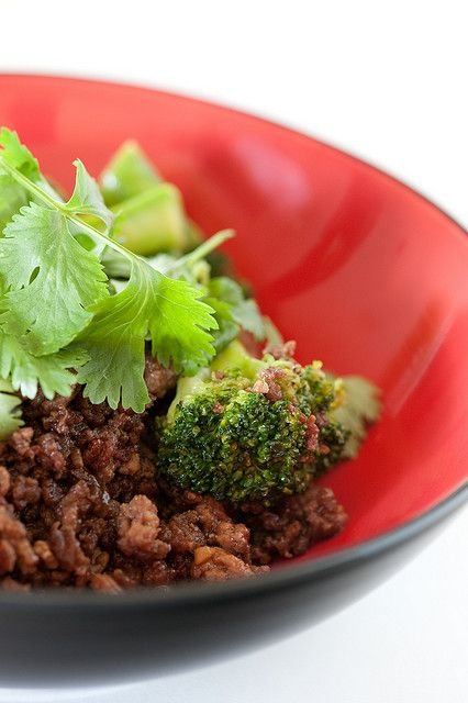 broccoli & ground beef by jules:stonesoup I always seem to have all ...