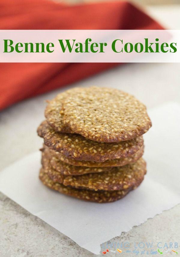 Sesame Seed Cookies A.K.A. Benne Wafers - Holistically Engineered