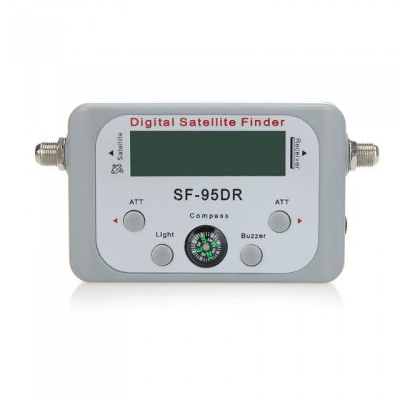 Mini Digital Satellite Signal Finder Meter With LCD Display Compass