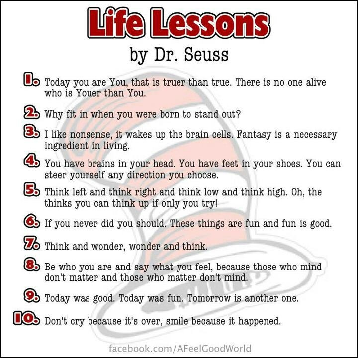 By Dr Seuss Quotes About Life. QuotesGram