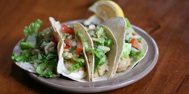 Oyster Tacos with Garlic Mayo | Terrific Taco Recipes | Pinterest