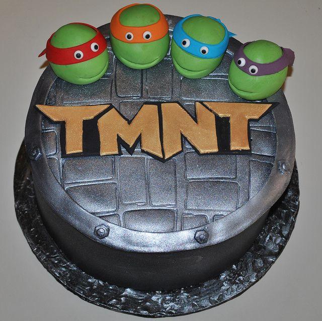 turtle cakes  teenage mutant ninja turtles my oldest son s birthday ...
