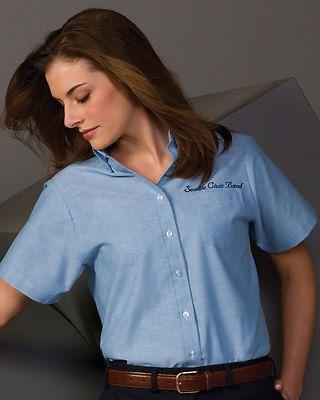 Wrinkle Resistant Blouse Short Sleeve Women'S 66