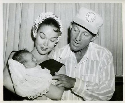 Bing crosby and kathryn grants baby 1961 the coolest of times www