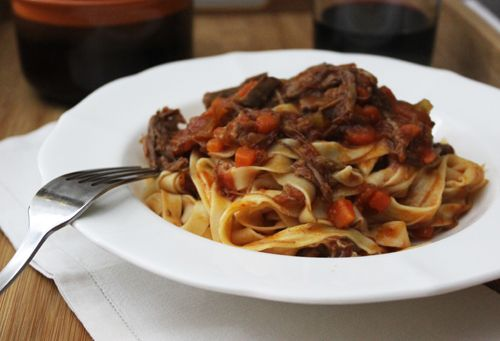 Slow Cooked Beef and Lamb Ragu   Le Creuset   Pinterest