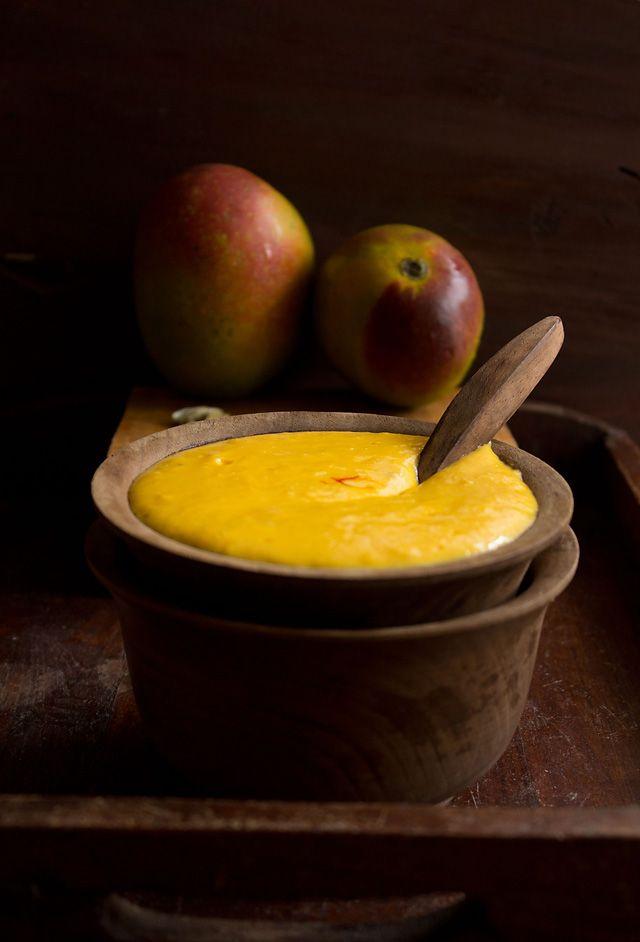 mango shrikhand, how to make mango shrikhand or amrakhand recipe