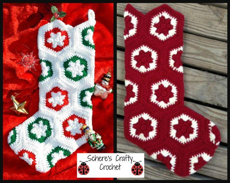 crochet christmas stocking http sussle org c crochet 1386278263 7264