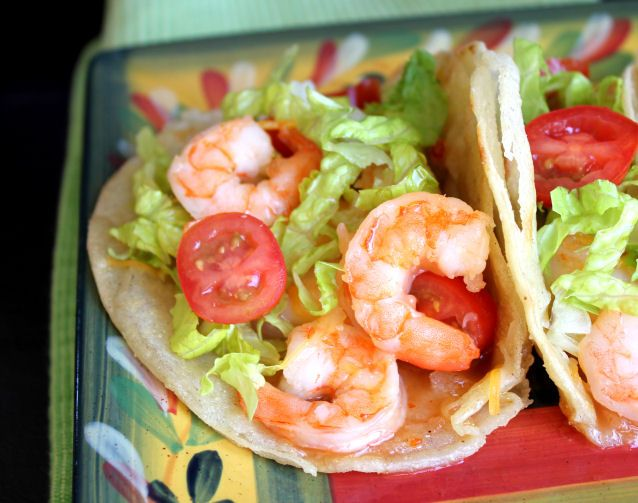 Sweet and Hot Shrimp Tacos | My Cookbook | Pinterest