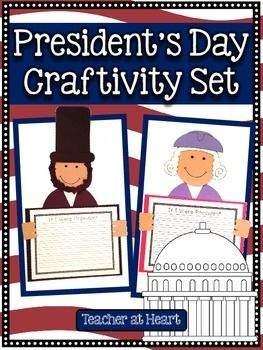 President's Day Craftivity Set